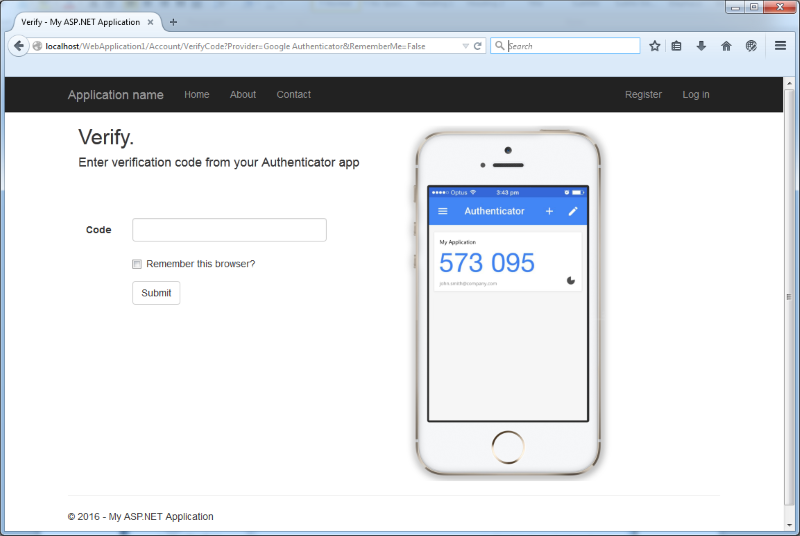auth 1 screenshot